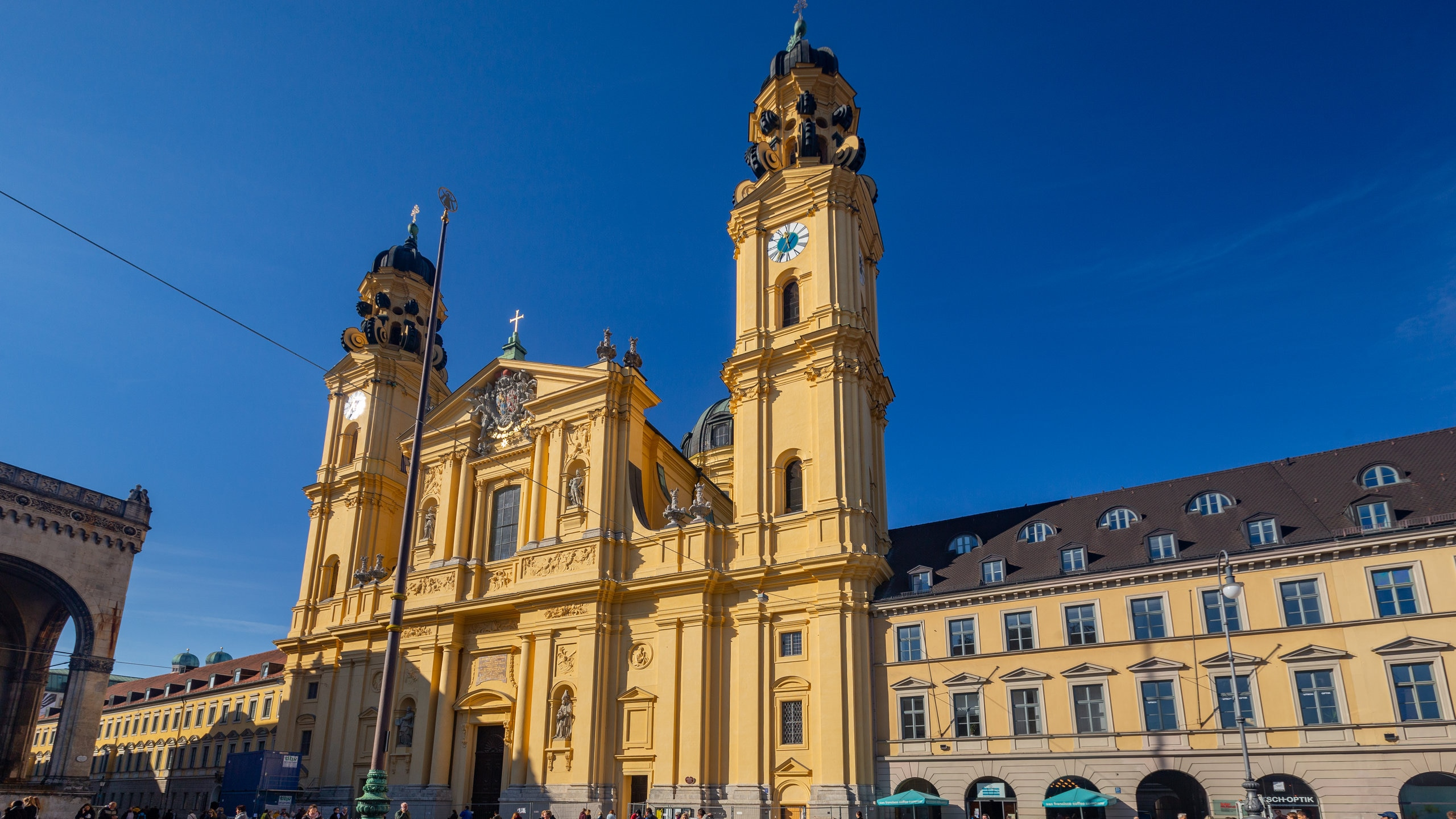 Theatinerkirche, Munich, Bavaria, Germany