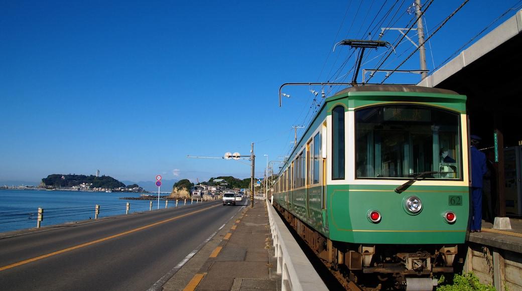 Kamakura showing railway items