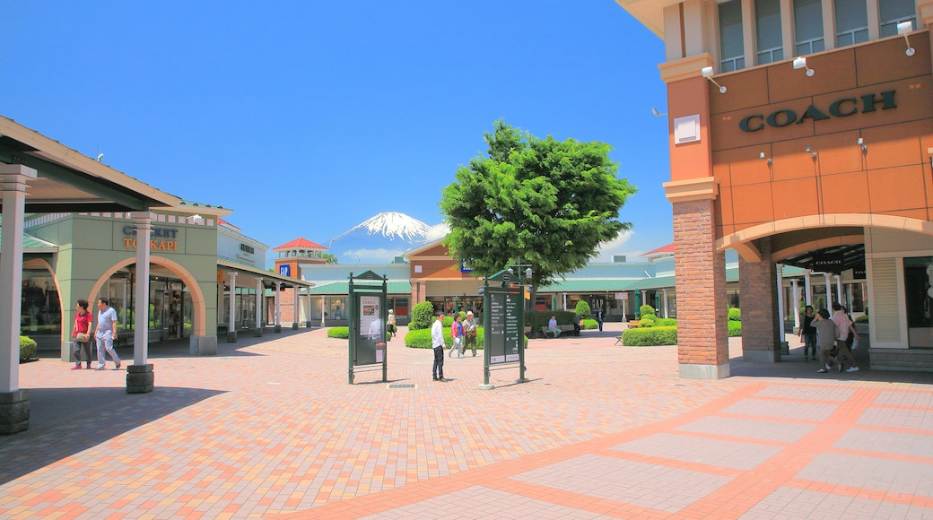 Gotemba Premium Outlets which includes a square or plaza