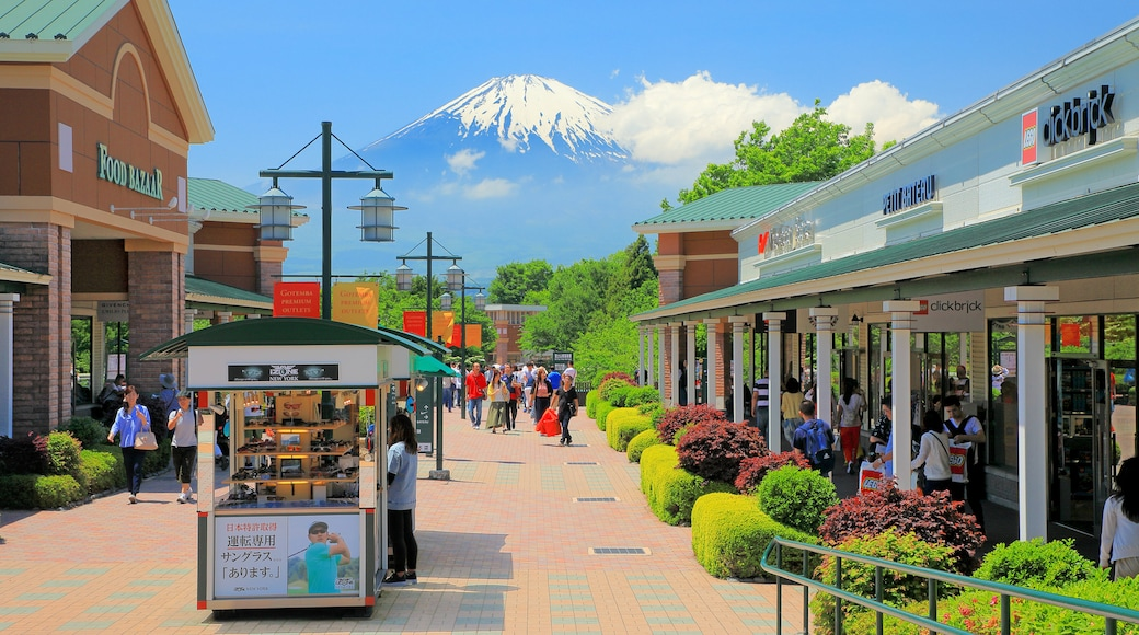 Gotemba Premium Outlets which includes mountains