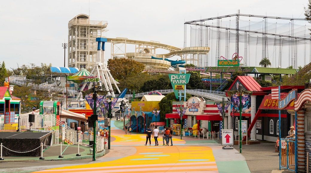 Yomiuriland which includes rides