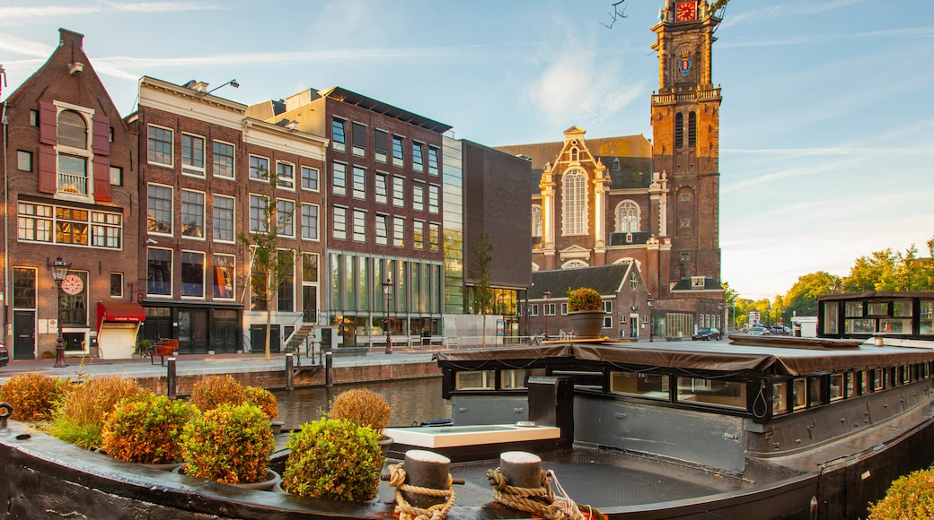 Anne Frank House featuring a city and heritage architecture