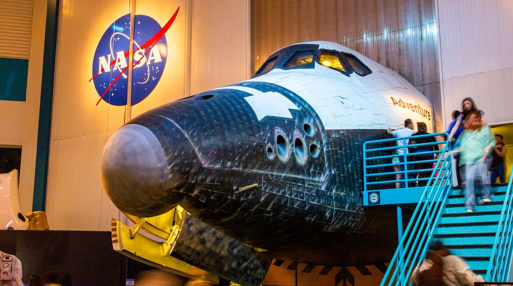 Space Center Houston which includes interior views