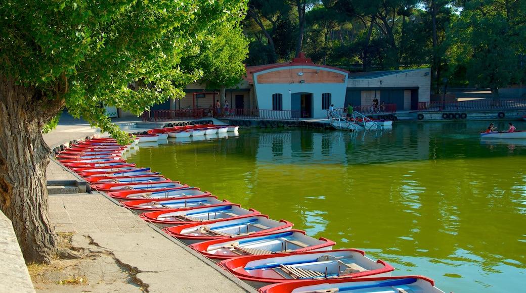 Casa de Campo das einen Teich und Marina