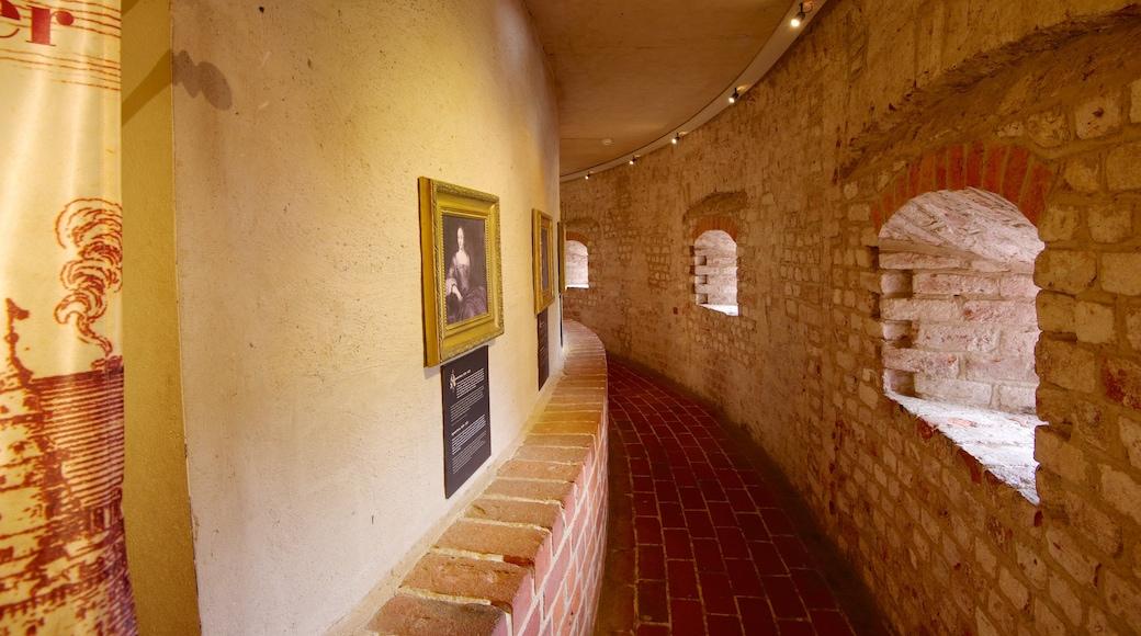 Malmöhus presenterar interiörer, historiska element och konst
