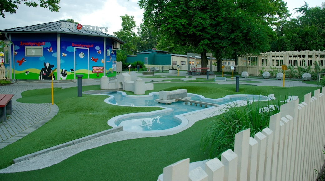 Folkets Park featuring a garden and a playground