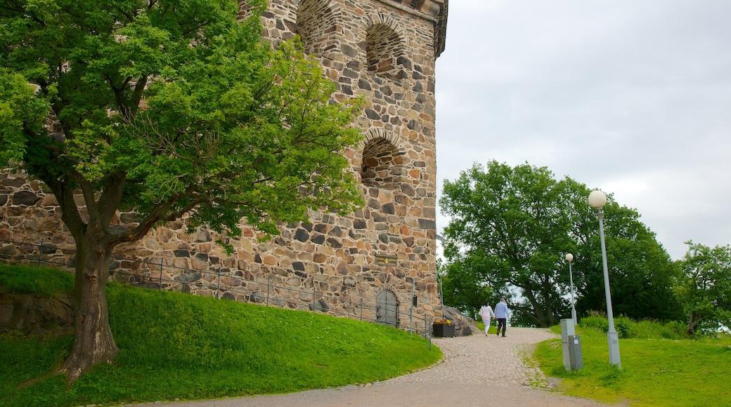 Skansen Kronan som viser palass og kulturarv