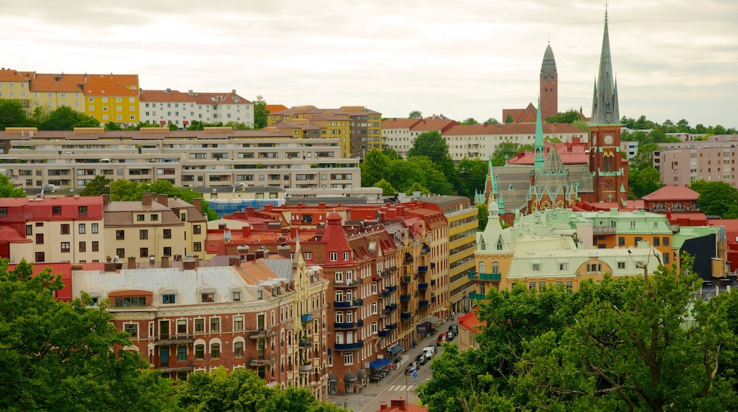 Skansen Kronan 其中包括 歷史建築 和 城市