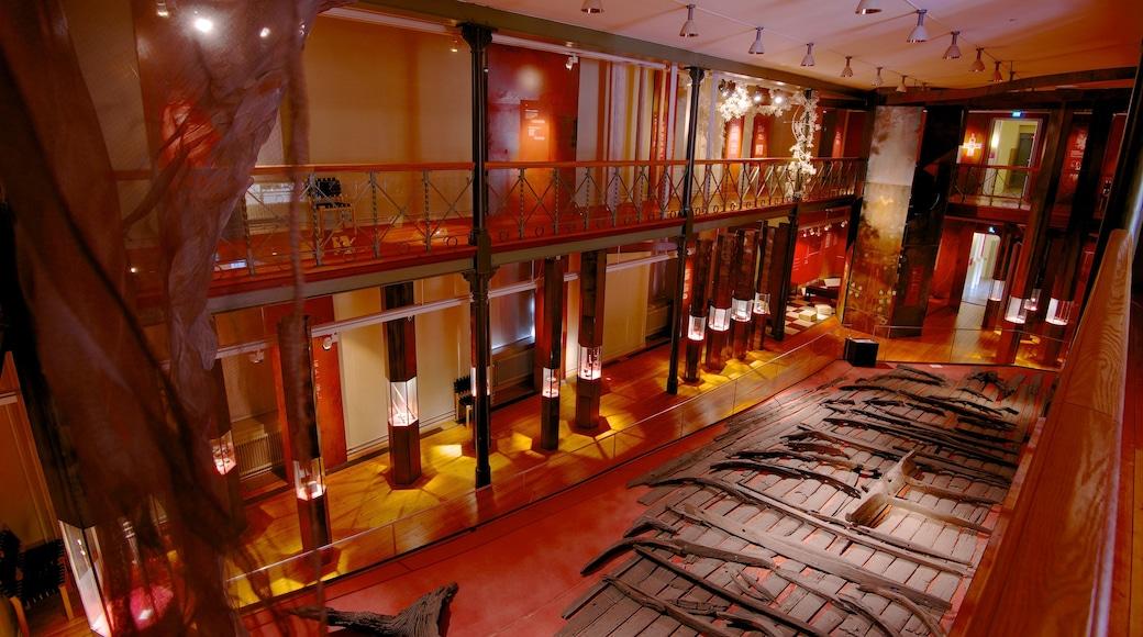 Stadsmuseet som inkluderar interiörer