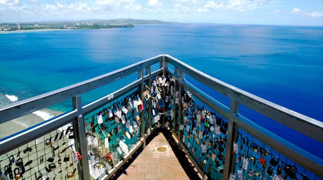 Two Lovers Point mit einem allgemeine Küstenansicht und Ansichten