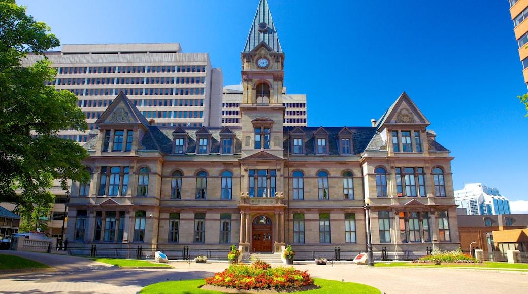Halifax welches beinhaltet Verwaltungsgebäude und historische Architektur