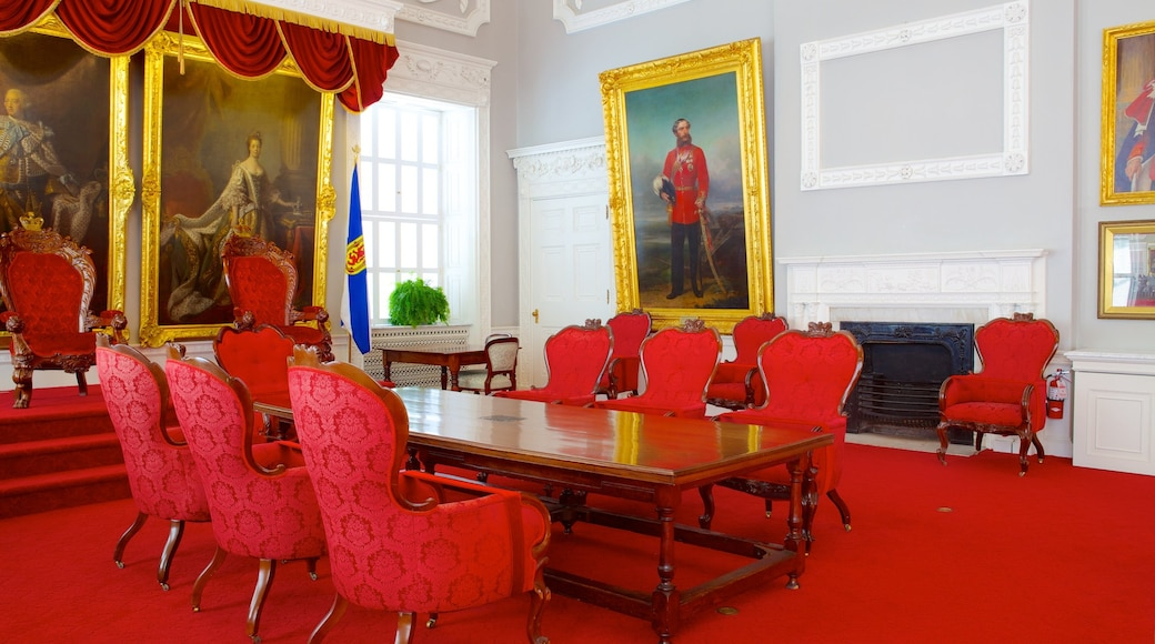 Province House which includes interior views and an administrative buidling