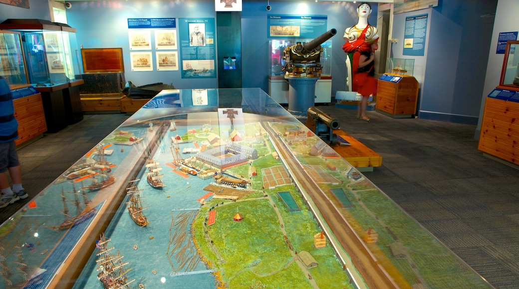 Maritime Museum of the Atlantic which includes interior views