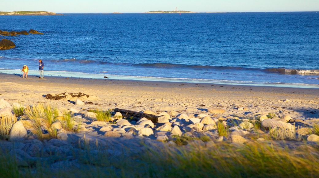 Crystal Crescent Beach which includes a beach and landscape views
