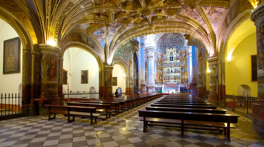 Mosteiro de São Jerônimo mostrando elementos religiosos, uma igreja ou catedral e arquitetura de patrimônio