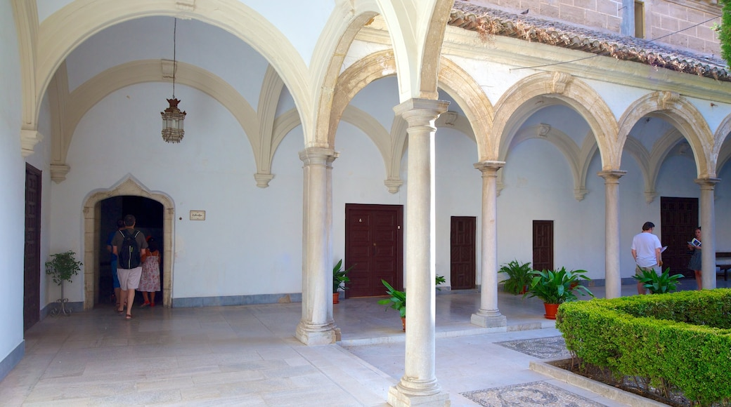 Granada Charterhouse showing interior views and a church or cathedral