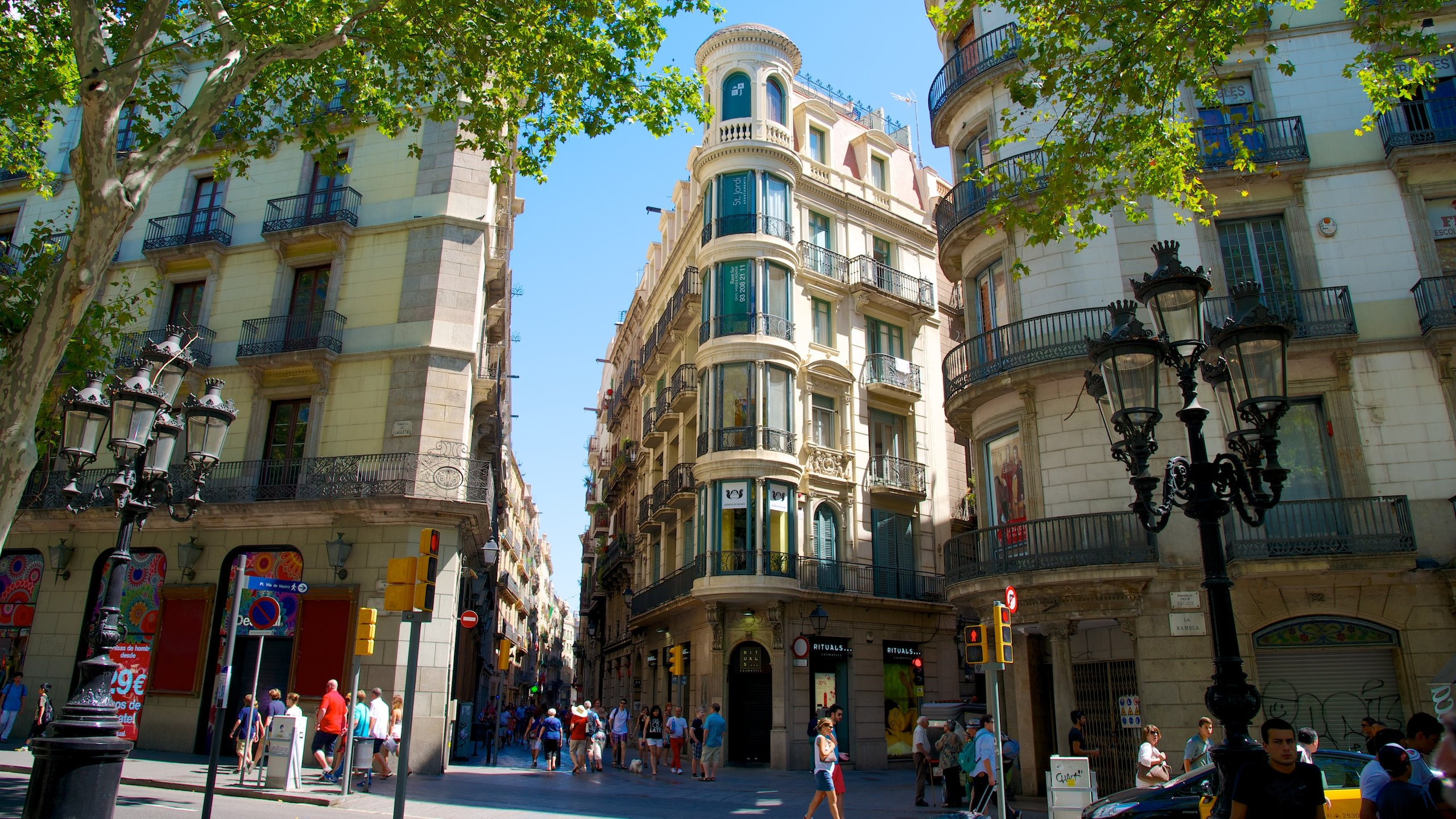 La Rambla, Barcellona, Spagna