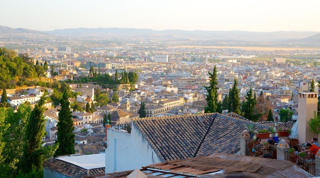 Mirador de San Nicolas which includes a city, skyline and a house