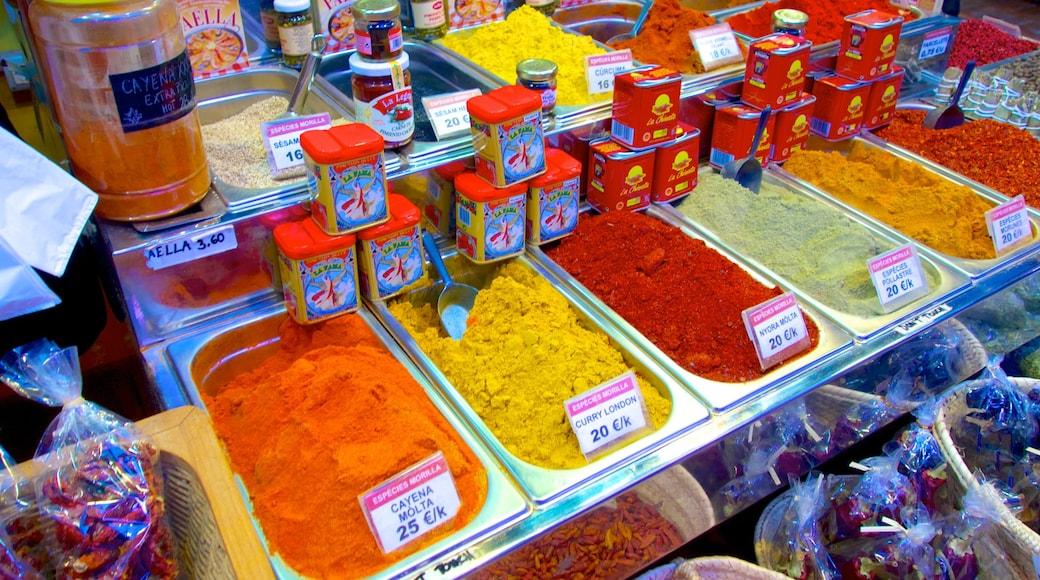 Boqueria Market 设有 食物 和 市場
