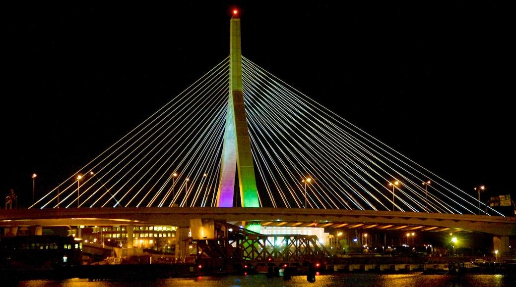 扎基姆邦克山橋 其中包括 夜景, 小港灣 和 吊橋或樹梢步道