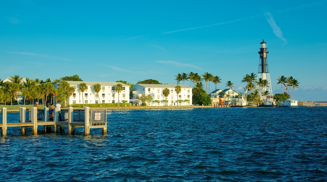 Fort Lauderdale featuring a lighthouse, general coastal views and views