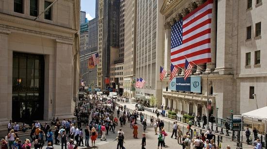 华尔街-金融区