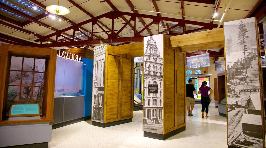 Ellis Island featuring interior views