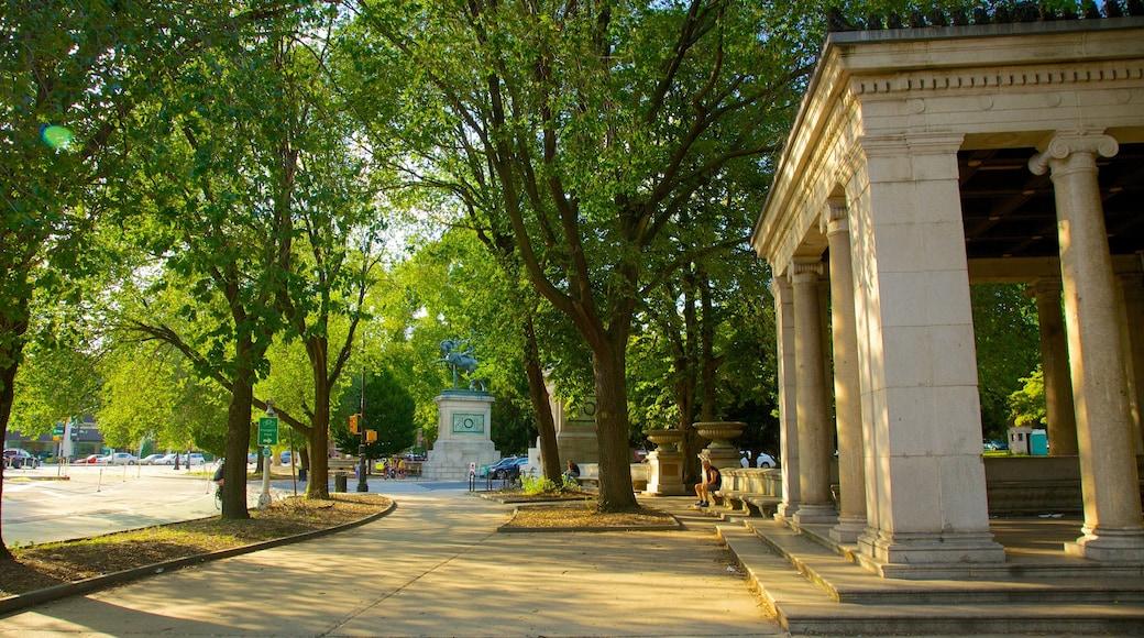 Prospect Park som viser park