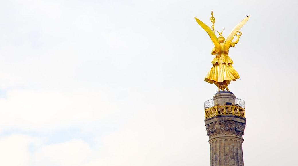 Siegessäule mit einem Monument