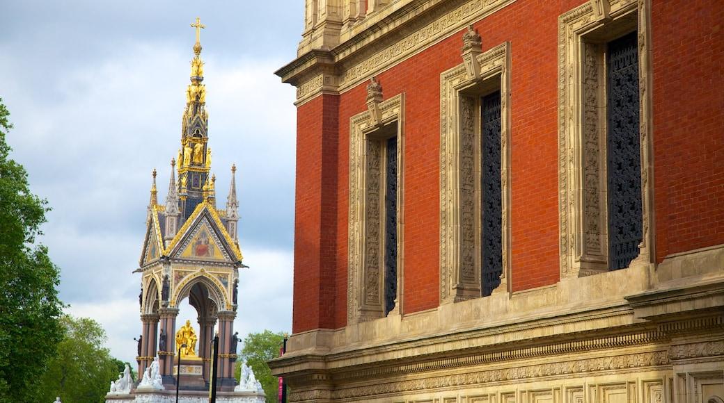 Albert Memorial og byder på historiske bygningsværker