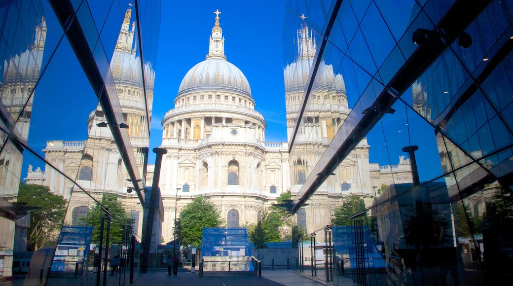 St. Paul\'s Cathedral showing heritage architecture and a church or cathedral
