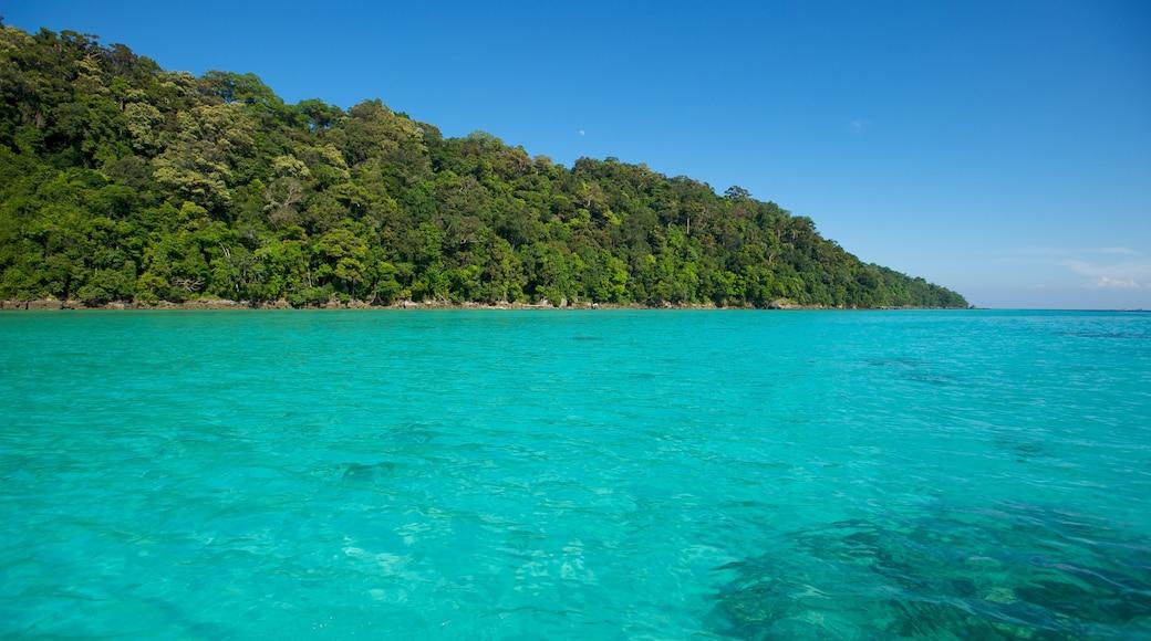 Khao Lak mettant en vedette vues littorales