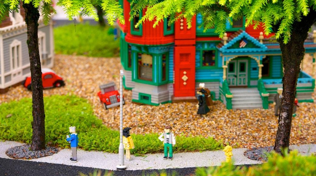 Legoland og byder på udendørs kunst