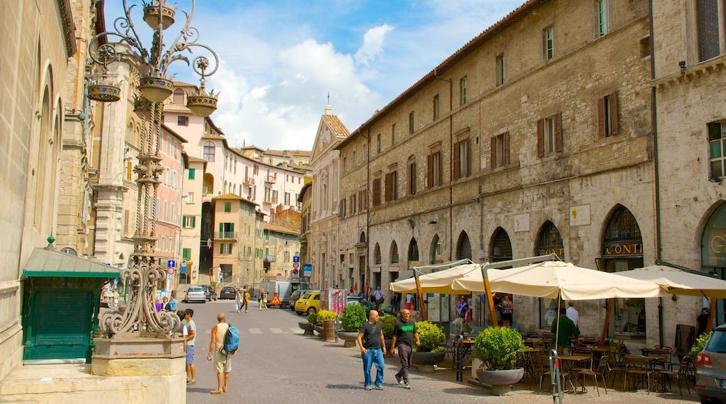 Perugia caratteristiche di architettura d\'epoca e città