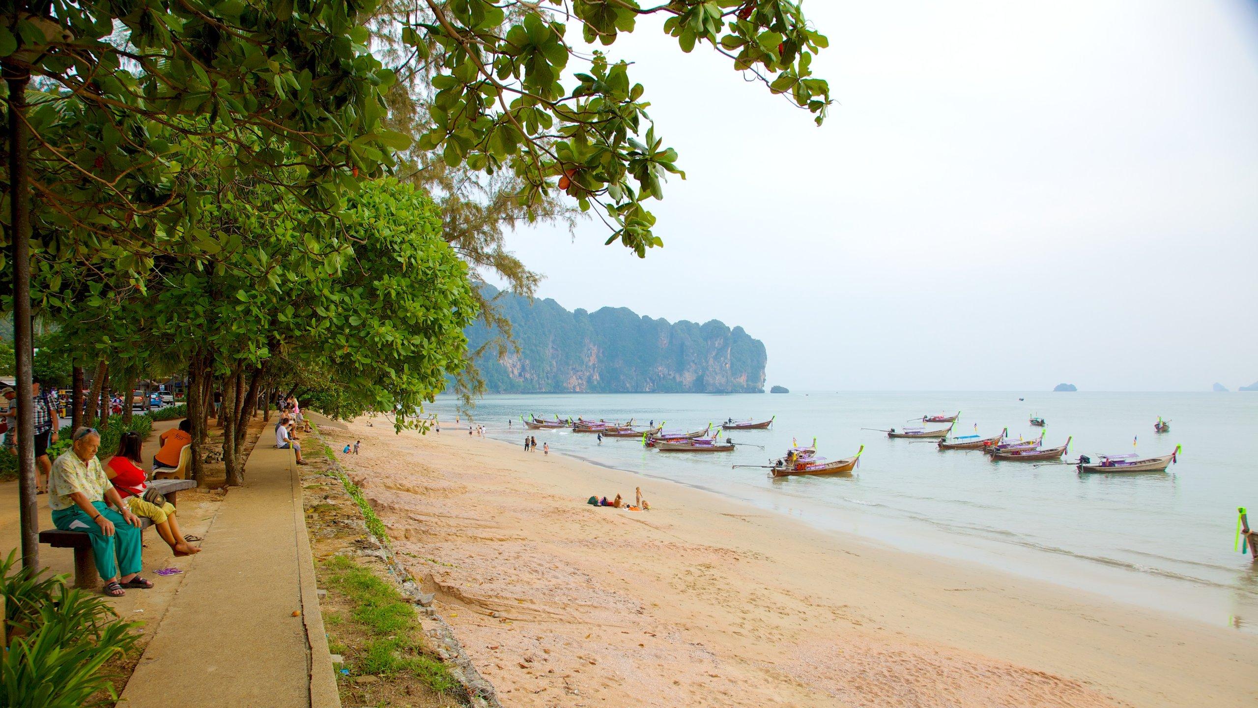 Ao Nang Beach, Krabi, Krabi Province, Thailand