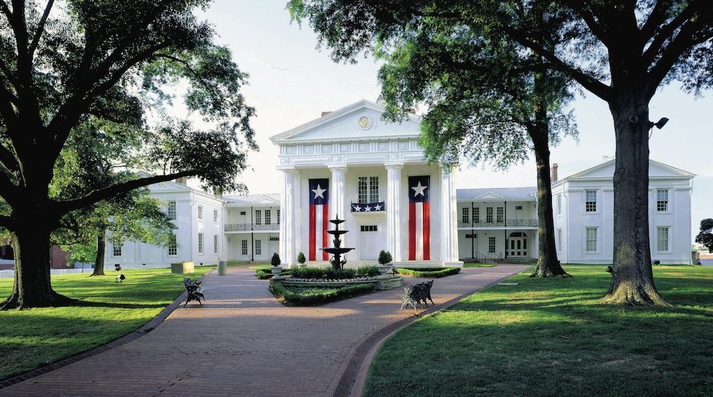 Little Rock mostrando architettura d\'epoca, edificio amministrativo e oggetti d\'epoca