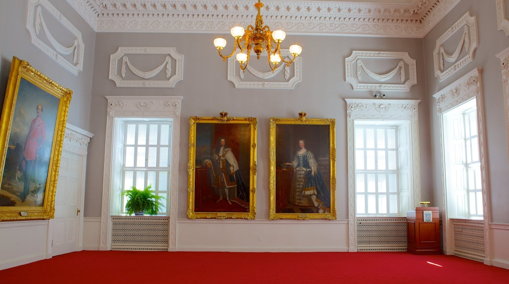 Province House which includes a house, interior views and heritage elements