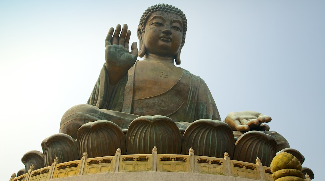 Big Buddha which includes a statue or sculpture, a monument and religious aspects
