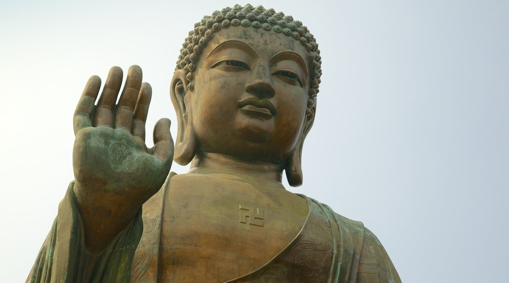 Big Buddha which includes a monument, religious elements and a statue or sculpture