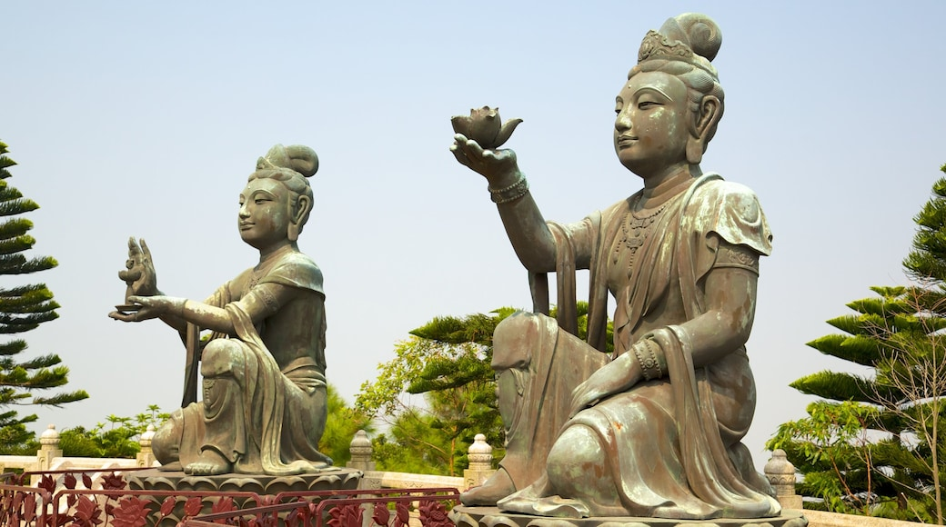 Big Buddha featuring religious elements, a monument and a statue or sculpture