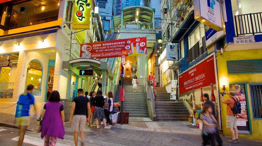 蘇豪區 设有 購物, 城市 和 夜景