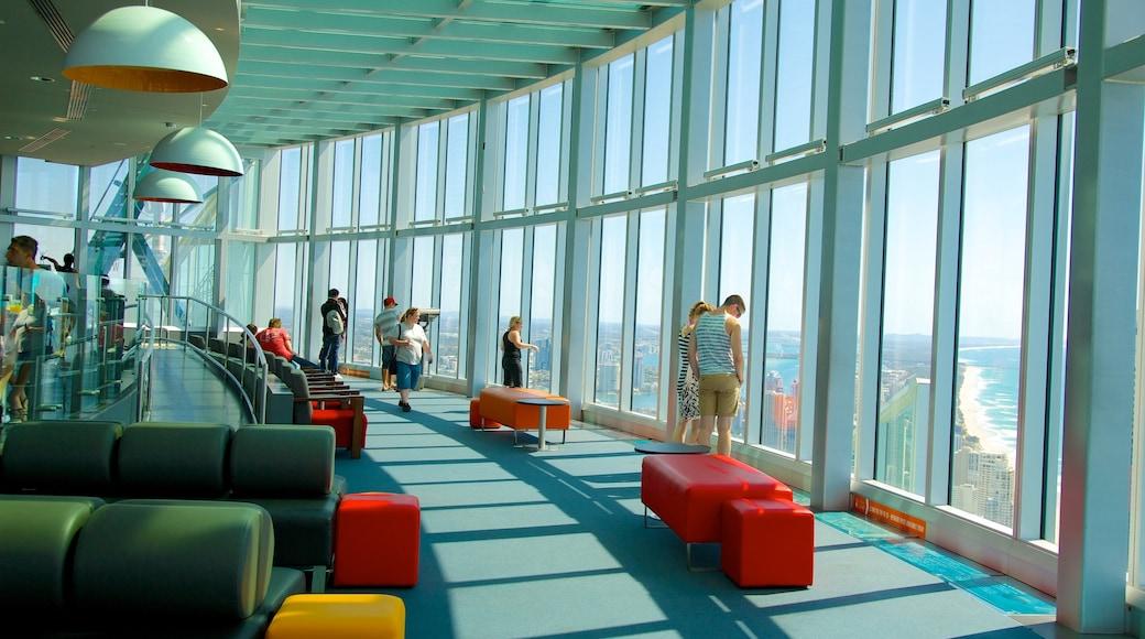 SkyPoint 觀景台 其中包括 內部景觀, 現代建築 和 景觀