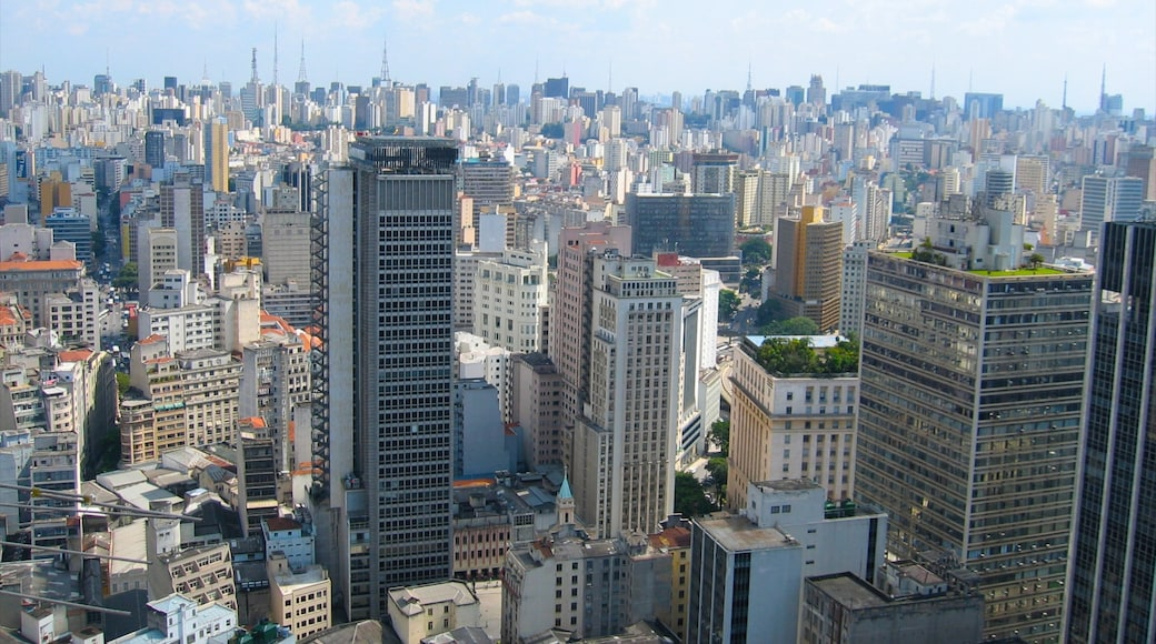 Sao Paulo featuring a skyscraper, city views and a city