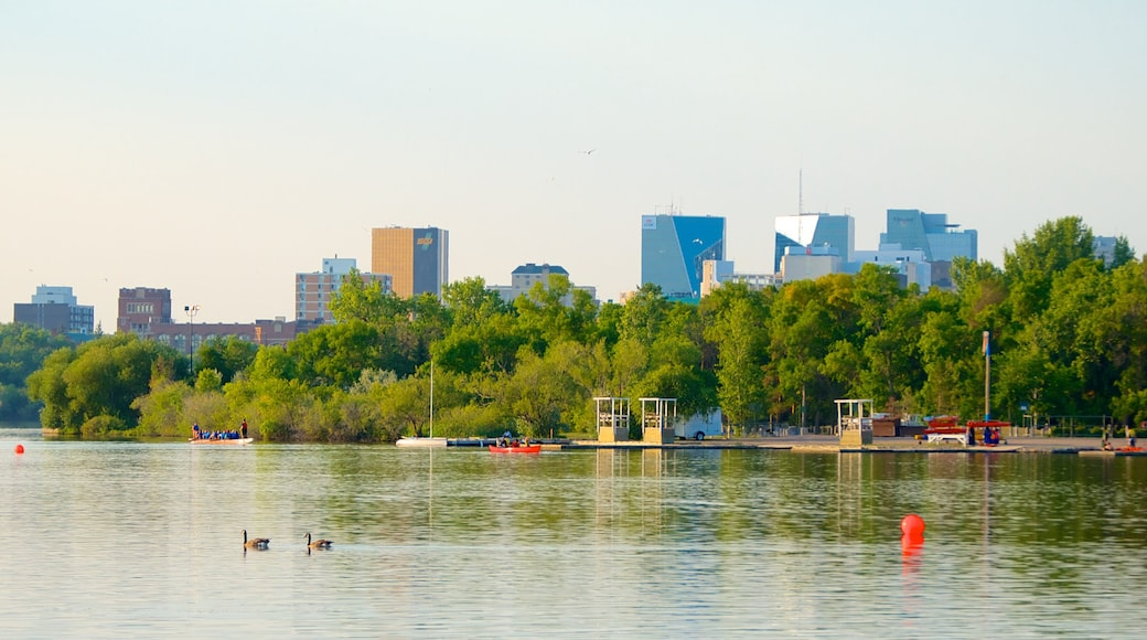Wascana Park featuring general coastal views, a city and a park