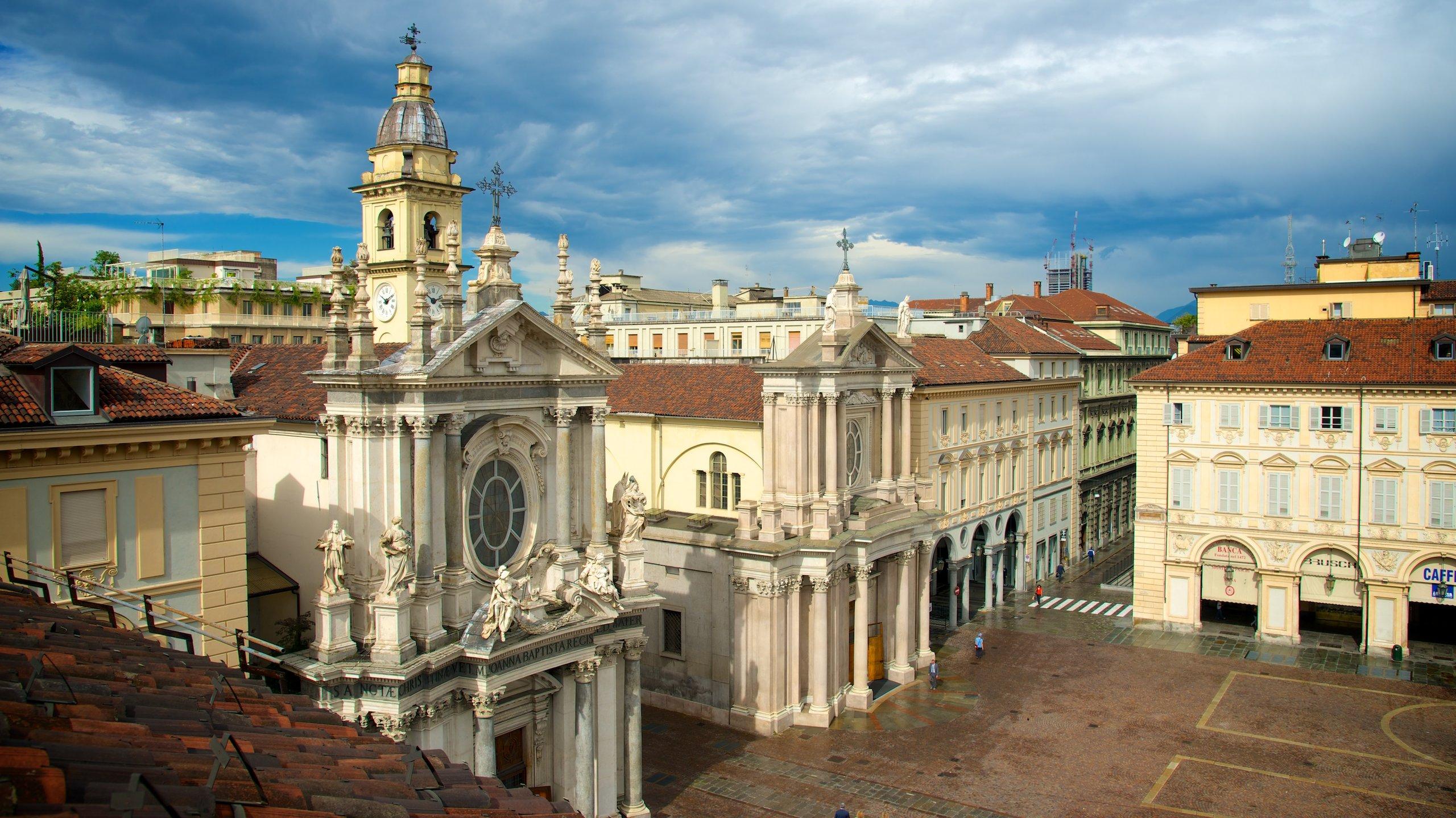 Historisches Zentrum, Turin, Piedmont, Italien