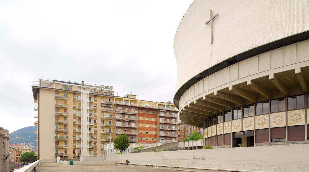 Cattedrale di Cristo Re mettant en vedette architecture moderne et église ou cathédrale