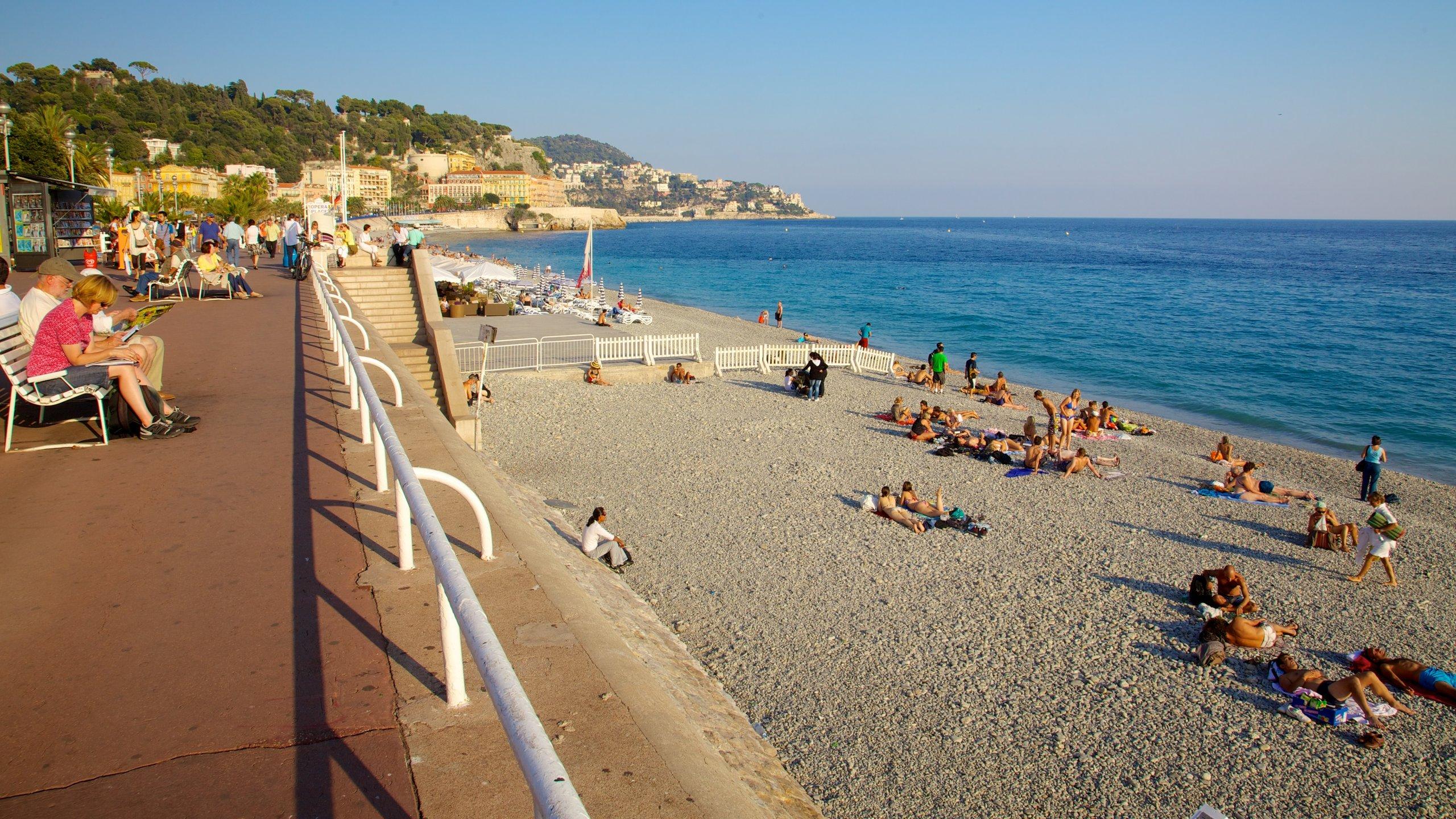 Promenade des Anglais, Nizza, Département Alpes-Maritimes, Frankreich