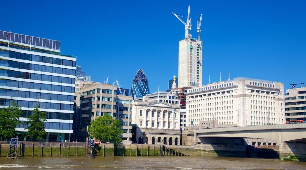 ลอนดอน แสดง วิวเมือง, แม่น้ำหรือลำธาร และ เมือง