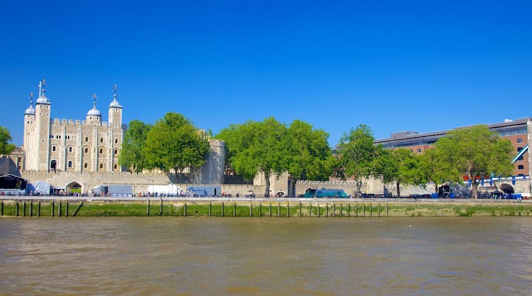 ลอนดอน แสดง เมือง, มรดกทางสถาปัตยกรรม และ แม่น้ำหรือลำธาร