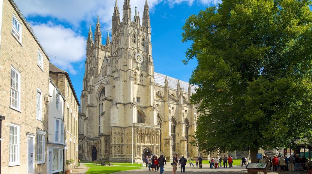 Canterbury Cathedral das einen Kirche oder Kathedrale, Stadt und historische Architektur